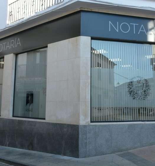 Nueva notaría San Roque