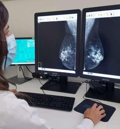 Mamografía, Quirónsalud Campo de Gibraltar